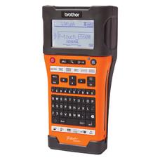 Принтер Brother P-touch PT-E550WVP переносной оранжевый/черный [pte550wvpr1]