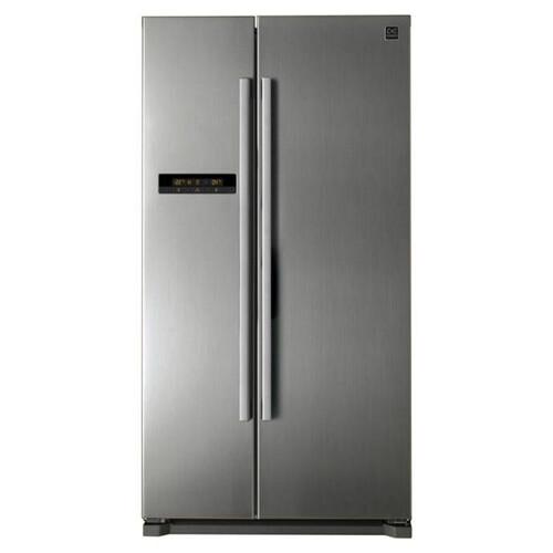 Холодильник DAEWOO FRN-X22B5CSI, двухкамерный, серебристый