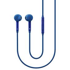 Гарнитура SAMSUNG EO-EG920L, вкладыши, голубой, проводные [EO-EG920LLEGRU]