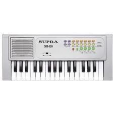 Синтезатор SUPRA SKB-320, 32, невзвешенная, малоразмерные, серебристый