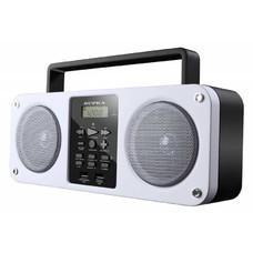 Аудиомагнитола SUPRA BB-M102UB, белый