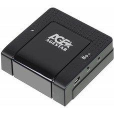 Адаптер-переходник AGESTAR WPRS, для HDD Mobile, черный