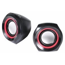 Колонки OKLICK OK-206, черный, красный [ok-206 black]