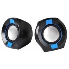 Колонки OKLICK OK-203, черный, синий [ok-203 black]