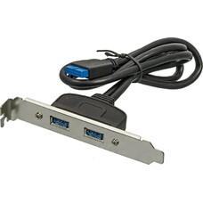 Адаптер USB Bracket 2xUSB3.0 Bulk [asia bracket usb 3.0 2 port]