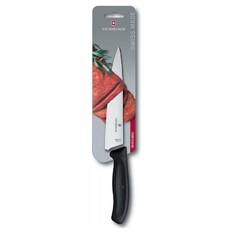 Нож кухонный Victorinox Swiss Classic (6.8003.19B) стальной разделочный лезв.190мм прямая заточка че