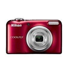 Цифровой фотоаппарат NIKON CoolPix A10, красный [VNA982E1]