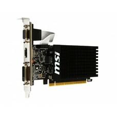 Видеокарта MSI nVidia GeForce GT 710 , GT 710 1GD3H LP, 1Гб, DDR3, Low Profile, Ret [geforce gt 710 1gd3h lp]