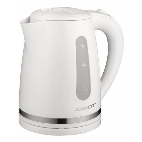 Чайник электрический SCARLETT SC-EK18P34, 2200Вт, белый