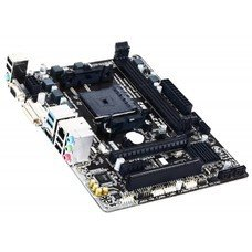 Материнская плата Gigabyte GA-F2A68HM-HD2 Soc-FM2+ AMD A68H 2xDDR3 mATX AC`97 8ch(7.1) GbLAN RAID RAID1 RAID10+VGA+DVI+HDMI