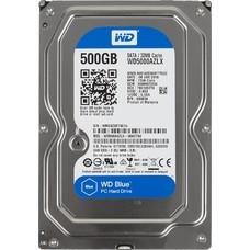 Жесткий диск WD SATA-III 500Gb WD5000AZLX Blue (7200rpm) 32Mb 3.5