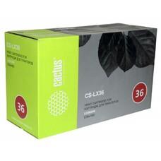 Картридж CACTUS CS-LX36 черный