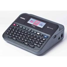 Принтер Brother P-touch PT-D600VP стационарный черный/серый [ptd600vpr1]