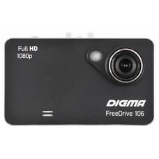 Видеорегистратор DIGMA FreeDrive 106 черный