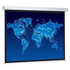 Экран CACTUS Wallscreen CS-PSW-149x265, 265.7х149.4 см, 16:9, настенно-потолочный белый