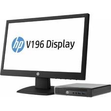 Комплект HP 260 G1 DM Cel 2957U (1.4)/4Gb/500Gb 7.2k/HDG/Windows 10 64/GbitEth/WiFi/65W/клавиатура/мышь/черный/монитор в комплекте 18.5