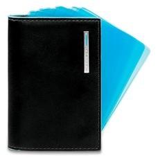 Чехол для кредитных карт Piquadro Blue Square PP1661B2/N черный натур.кожа