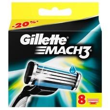 Сменные кассеты для бритья GILLETTE Mach3, 8 шт. [81540660]