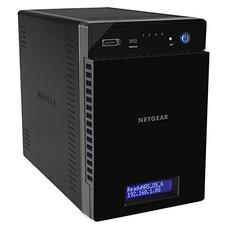 Сетевое хранилище NETGEAR RN21400-100NES, без дисков