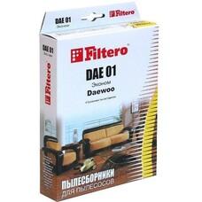 Пылесборники FILTERO DAE 01 Эконом, бумажные, 4