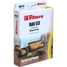 Пылесборники FILTERO DAE 03 Эконом, бумажные, 4