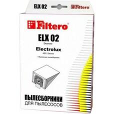 Пылесборники FILTERO ELX 02 Эконом, бумажные, 4