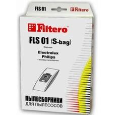 Пылесборники FILTERO FLS 01 Эконом, бумажные, 4