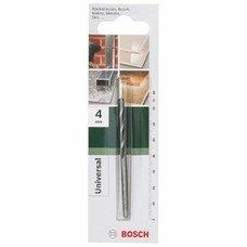 Сверло Bosch 2609255471 универсал. Д=4мм Дл=75мм (1пред.)