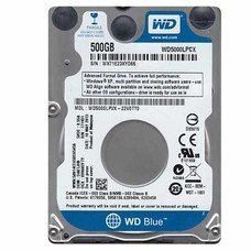 Жесткий диск WD SATA-III 500Gb WD5000LPCX Blue (5400rpm) 16Mb 2.5