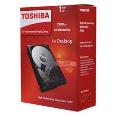 "Жесткий диск TOSHIBA P300 HDWD110EZSTA, 1Тб, HDD, SATA III, 3.5"""