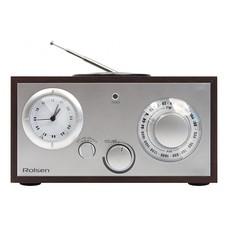 Радиобудильник ROLSEN RFM-200, венге