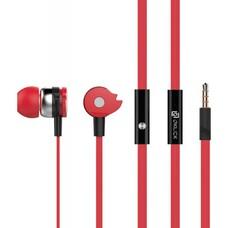 Гарнитура вкладыши Oklick HS-S-210 1.2м красный проводные (в ушной раковине)