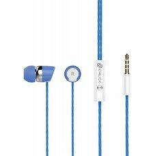 Гарнитура вкладыши Oklick HS-S-230 1.2м синий проводные (в ушной раковине)