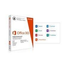 Офисное приложение MICROSOFT Office 365 персональный, Rus, без носителя [qq2-00595]