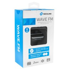 Автомобильный FM-модулятор Neoline Wave FM черный MicroSD BT USB PDU