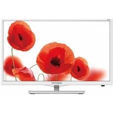 """LED телевизор TELEFUNKEN TF-LED24S38T2 """"R"""", 23.6"""", HD READY (720p), белый [TF-LED24S38T2(БЕЛЫЙ)]"""