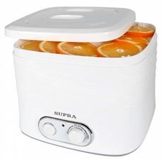 Сушилка для овощей и фруктов SUPRA DFS-523, белый, 5 поддонов [10515]