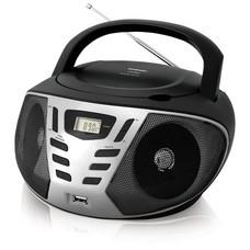 Аудиомагнитола BBK BX193U, черный и серый