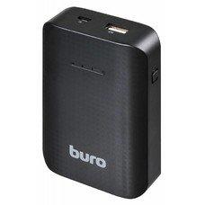 Внешний аккумулятор BURO RC-7500, 7500мAч, черный