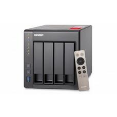 Сетевое хранилище NAS Qnap TS-451+-2G 4-bay