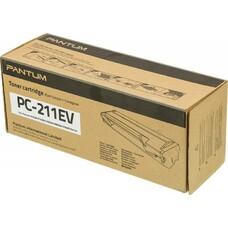 Тонер Картридж Pantum PC-211EV черный для Pantum P2200/2207/2500/2500W/6500/6550/6600 (1600стр.)