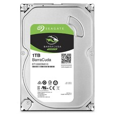 Жесткий диск SEAGATE Barracuda ST1000DM010, 1Тб, HDD, SATA III, 3.5""