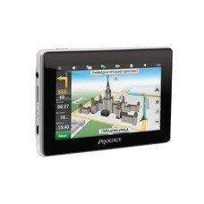 """GPS навигатор PROLOGY iMAP-4800, 4.3"""", авто, 4Гб, Navitel, черный"""