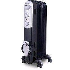 Масляный радиатор POLARIS CR 0715B, 1500Вт, черный