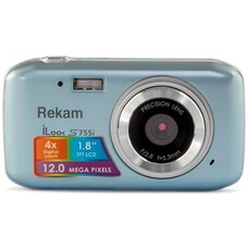Цифровой фотоаппарат REKAM iLook S755i, серый металлик [1108005122]