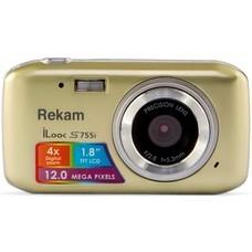 Цифровой фотоаппарат REKAM iLook S755i, шампань