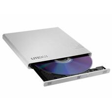 Оптический привод DVD-RW LITE-ON eBAU108, внешний, USB, белый, Ret [EBAU108]