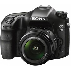 Зеркальный фотоаппарат SONY Alpha ILCA-68K kit ( 18-55 мм f/3.5-5.6), черный