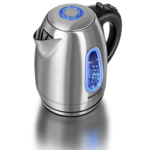 Чайник электрический REDMOND RK-M183, 2200Вт, серебристый