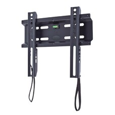 """Кронштейн для телевизора Kromax FLAT-5 черный 15""""-47"""" макс.35кг настенный фиксированный [26011]"""